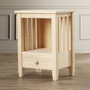 Check Prices Lynn Wood Mission End Table ByMistana