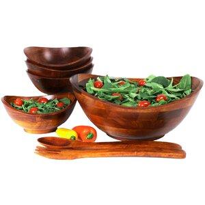 Everetts 7 Piece Salad Bowl Set