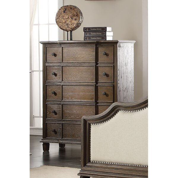 Lavada 5 Drawer Chest by Three Posts