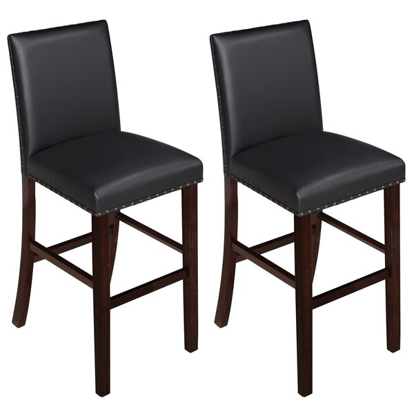 Dakoda 29 Bar Stool (Set of 2) by Charlton Home