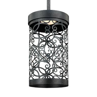 Compare & Buy Veer 1-Light Cylinder Pendant By Bungalow Rose