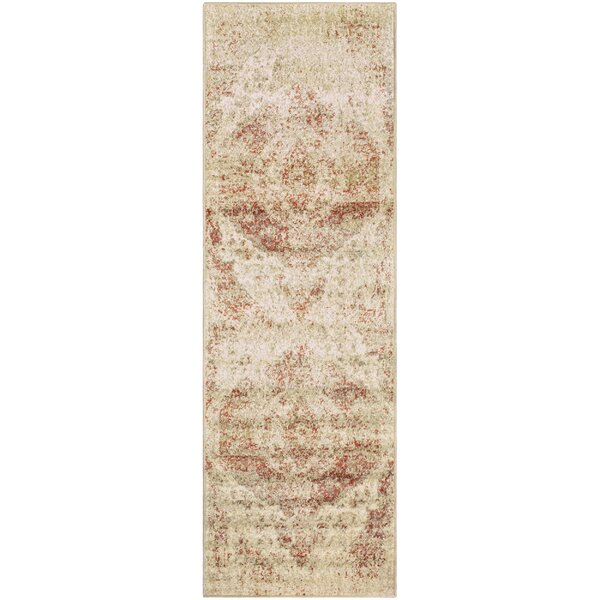 Golston Ombre Cream Area Rug by Charlton Home