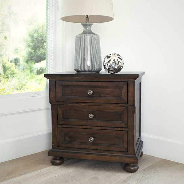 Chilmark 3 Drawer Nightstand by Darby Home Co