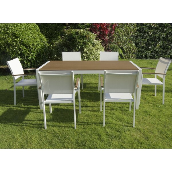 Balas 7 Piece Dining Set by Wade Logan