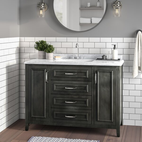 Schulenburg 48 Single Bathroom Vanity Set by Greyleigh