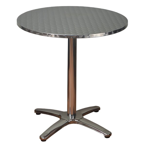 Round Aluminum Dining Table by DHC Furniture