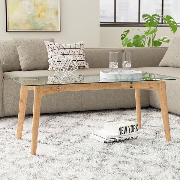 Ebern Designs Glass Top Coffee Tables
