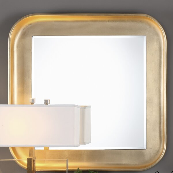 Square Framed Accent Mirror by Latitude Run