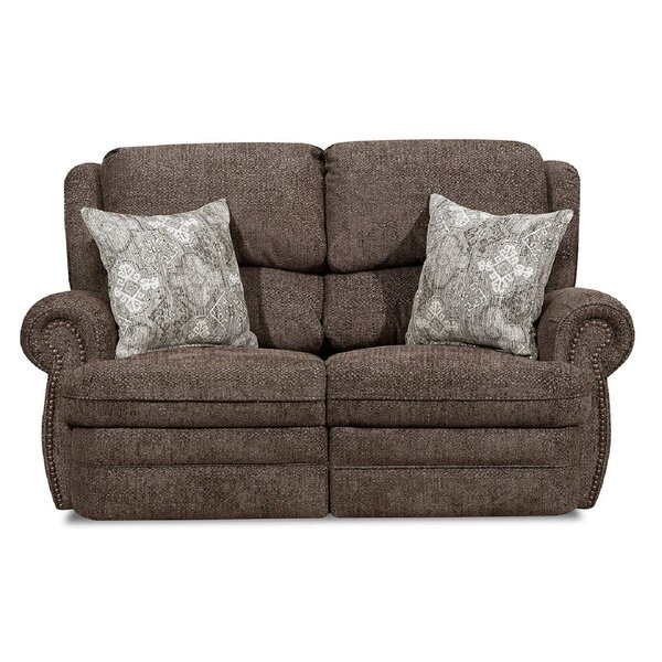 Discover Luxurious Jazmine Reclining Loveseat by Darby Home Co by Darby Home Co