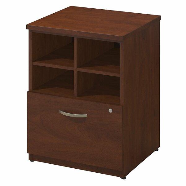 Series C Elite Pedestal Piler/Filer 1 Drawer Vertical File by Bush Business Furniture