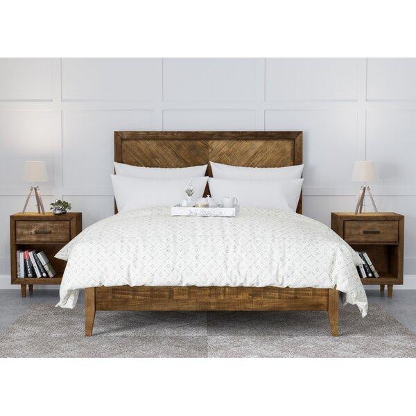 Best  Ian Platform 3 Piece Bedroom Set By Modern Rustic Interiors Savings