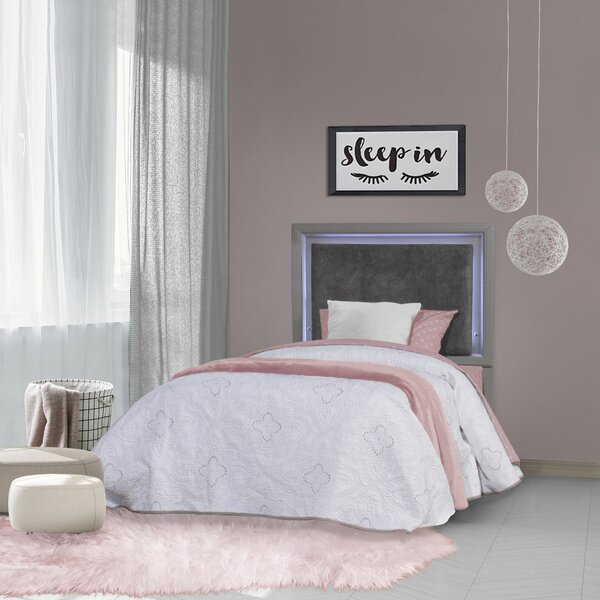 McKenney Upholstered Panel Bed by Isabelle & Max