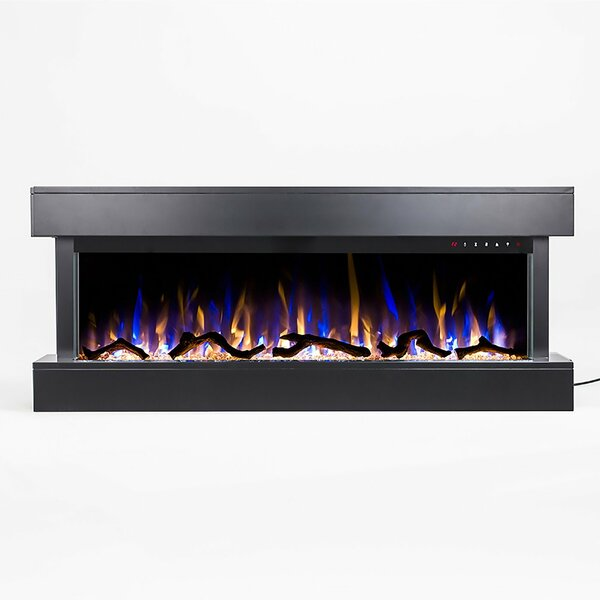 Wall Mounted Electric Fireplace by Orren Ellis