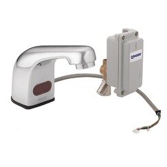 M-Power Sensor-Operated Electronic Centerset Lead Compliant Bathroom Faucet by Moen