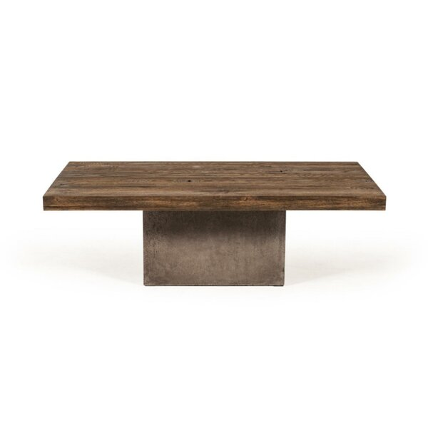 Boutin Wooden Top Coffee Table by Foundry Select