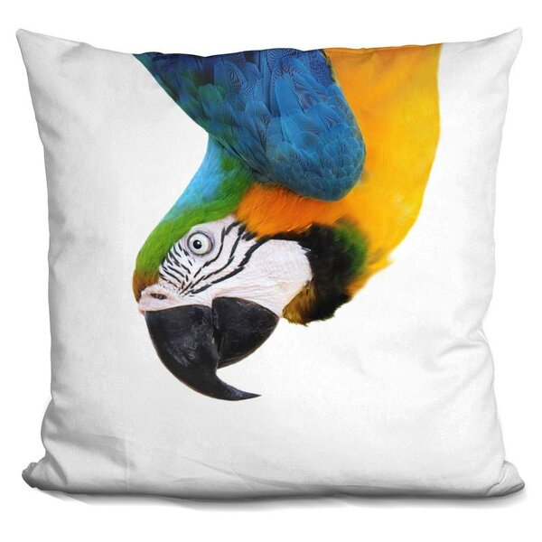 Parrot Throw Pillow by East Urban Home