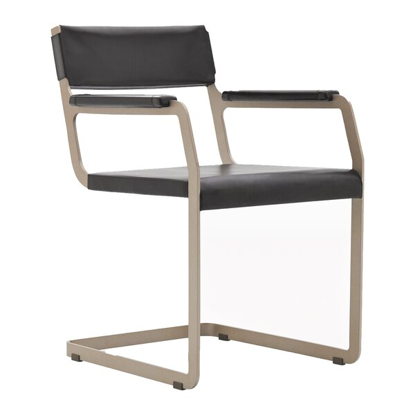 Horatio Genuine Leather Upholstered Dining Chair by Argo Furniture