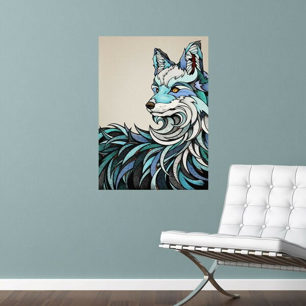 Berlin Fox Animal Wall Decal by My Wonderful Walls