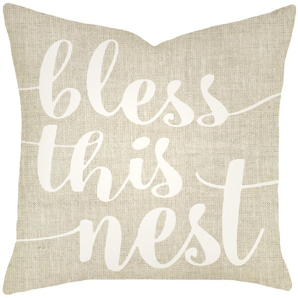 Charlack Bless This Nest Pillow