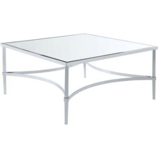 Belliveau Metal Coffee Table by House of Hampton