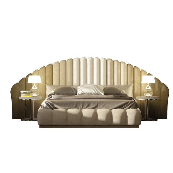 Edgao Upholstered Standard Bed by House of Hampton