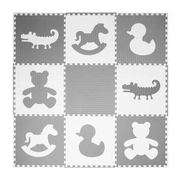 Puzzle Exercise Floor Mat by WEISSER TOYS