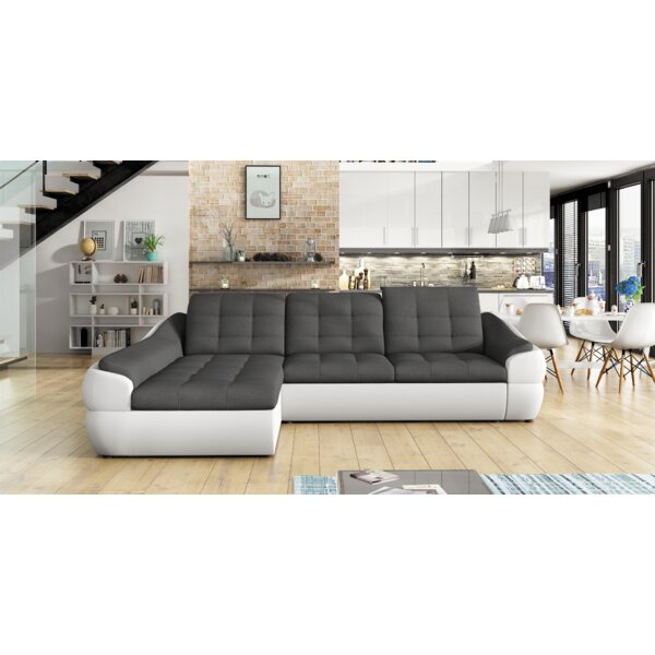 Valuable Quality Melida Mini Sleeper Sectional by Latitude Run by Latitude Run