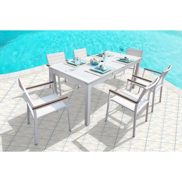 Rizzuto 7 Piece Dining Set by Orren Ellis
