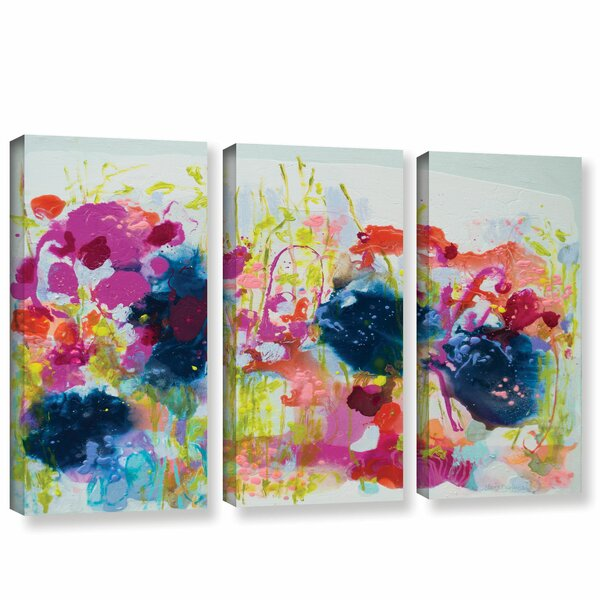 July Heat 3 Piece Painting Print on Wrapped Canvas Set by Latitude Run