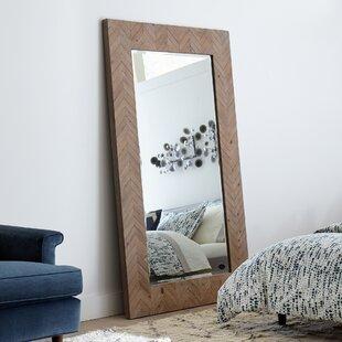 Large Wood Frame Mirror | Wayfair