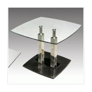 Cilla End Table by Chintaly Imports