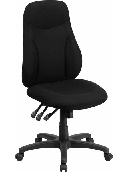 Kruger High-Back Ergonomic Office Chair by Symple Stuff