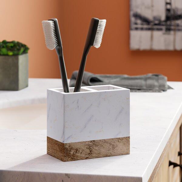 Brett Toothbrush Holder by Trent Austin Design