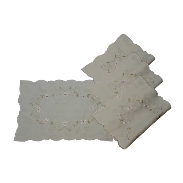 Glory Luxurious Placemat (Set of 4) by Violet Linen