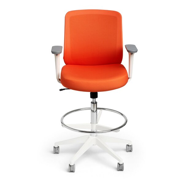 Mesh Drafting Chair by Poppin
