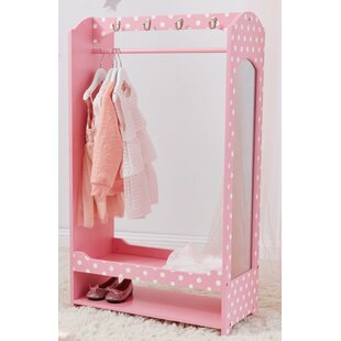 Fashion Polka Dot Bella Armoire by Teamson Kids
