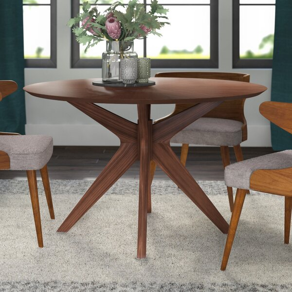 Kling 5 Piece Solid Wood Dining Set by George Oliver