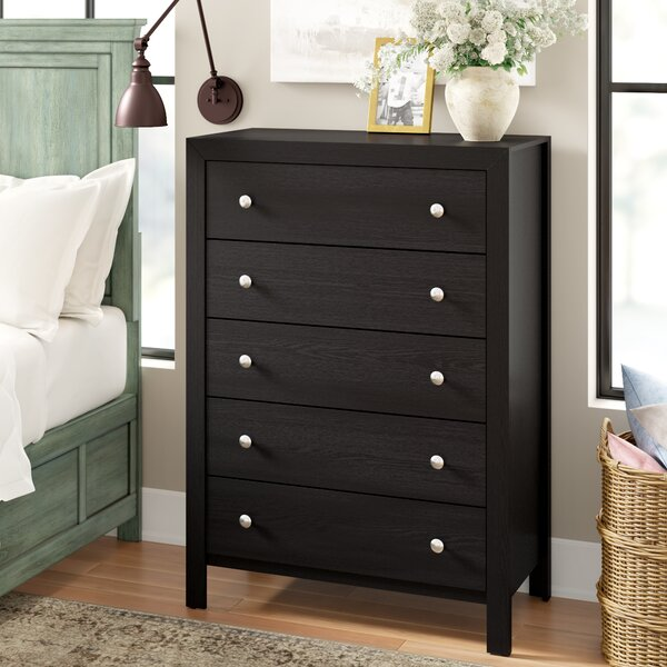 Kennon 5 Drawer Bachelors Chest by Three Posts