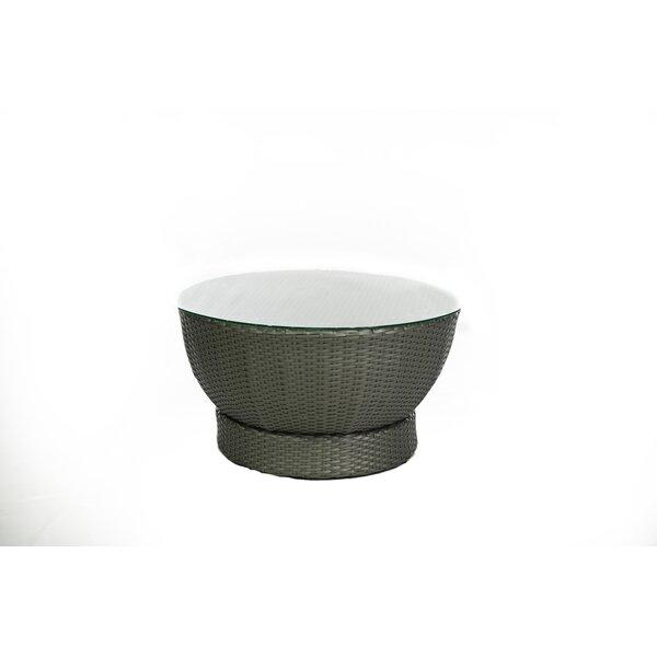 Tower Wicker Coffee Table by Feruci