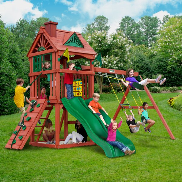 Double Down Swing Set by Gorilla Playsets
