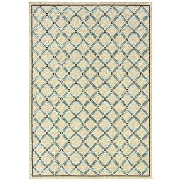 Kaydence Power Loom Beige/Blue Rug