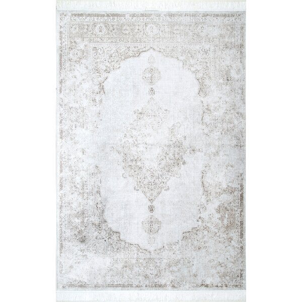 Centreville Ivory Area Rug by Bungalow Rose