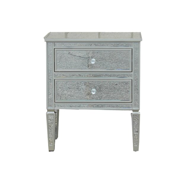 Poole 2 Drawer Nightstand by Rosdorf Park