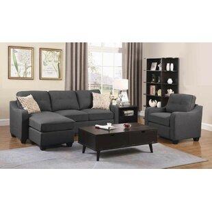 Bloxom 2 Piece Living Room Set by Winston Porter