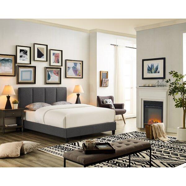Barlowe Queen Upholstered Standard Bed by Ebern Designs