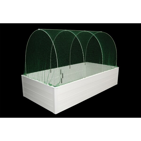 Multi Season System Quad 6 Ft. W x 4 Ft. D Mini Greenhouse by Guarden