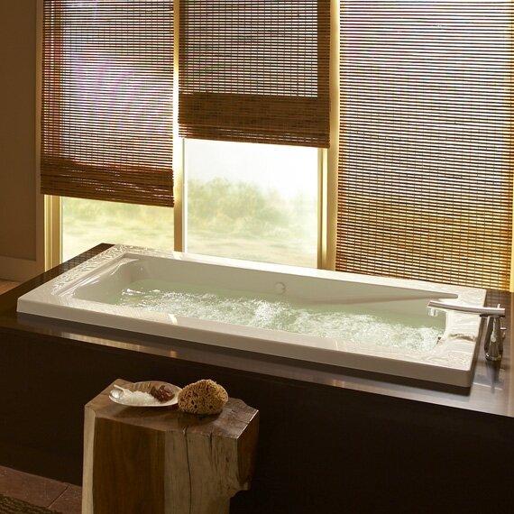 Green Tea 76.25 x 40.5 Bathtub by American Standard