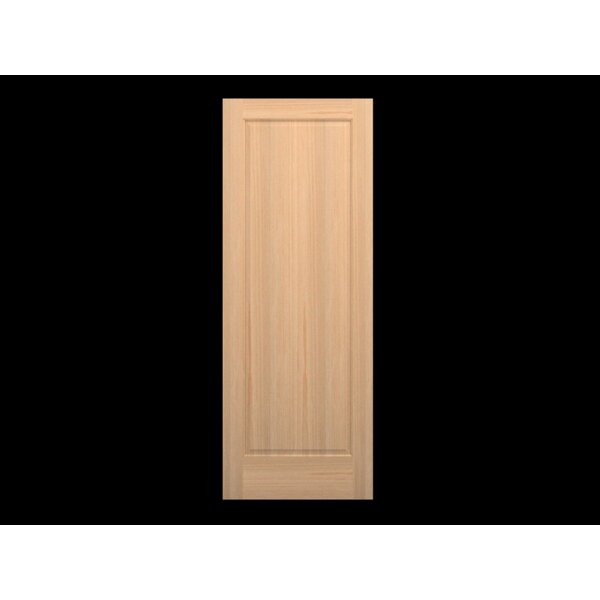 Wood 1 Panel Slab Interior Door by Karona Door