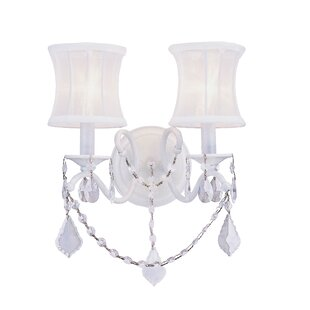 Top Reviews Aron 2-Light Wall Sconce By Willa Arlo Interiors