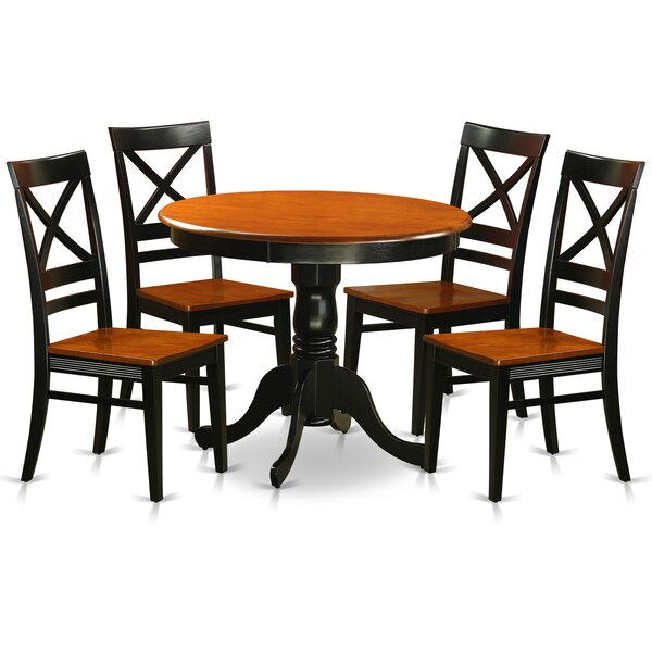 Stanger 5 Piece Dining Set by Charlton Home Charlton Home